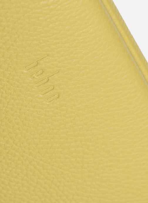 Handtaschen Behno Elisabeth Baguette gelb ansicht von links