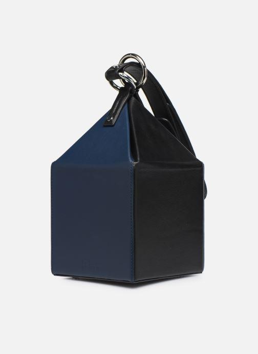 Borse Behno Julie Bag Azzurro modello indossato