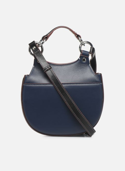 Bolsos de mano Behno Tilda Mini Saddle Bag Nappa Azul vista de frente
