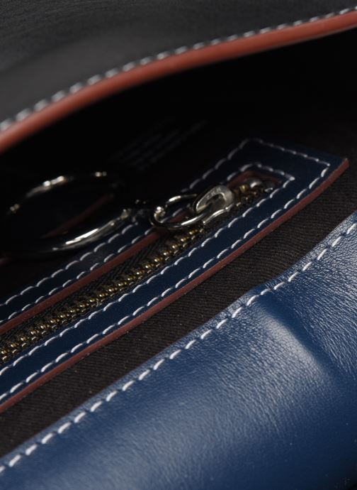 Bolsos de mano Behno Tilda Mini Saddle Bag Nappa Azul vistra trasera