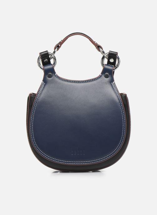 Handtaschen Behno Tilda Mini Saddle Bag Nappa blau detaillierte ansicht/modell