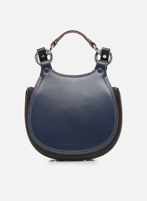 Bolsos de mano Behno Tilda Mini Saddle Bag Nappa Azul vista de detalle / par