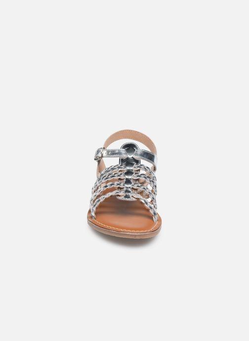 Sandales et nu-pieds L'Atelier Tropézien Sandales IL314E Argent vue portées chaussures