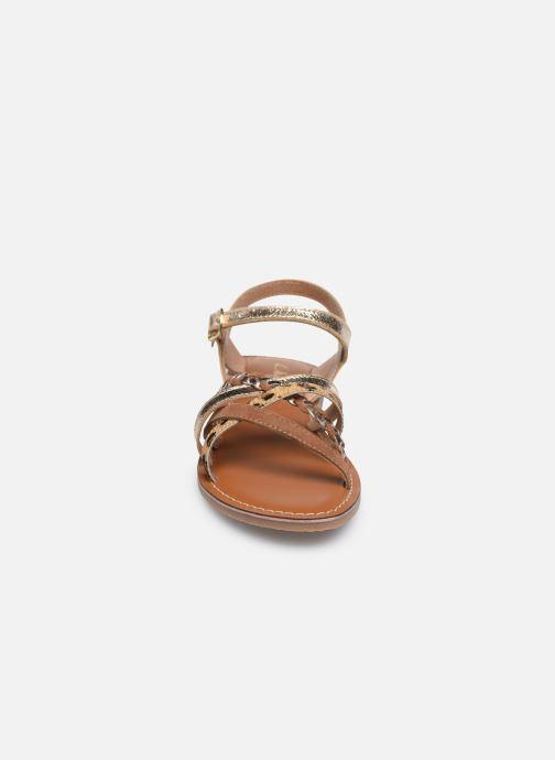 Sandales et nu-pieds L'Atelier Tropézien Sandales IL108E Marron vue portées chaussures