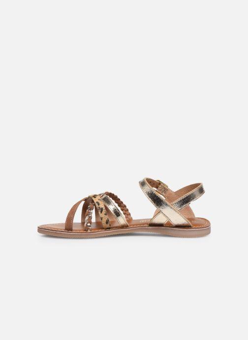 Sandales et nu-pieds L'Atelier Tropézien Sandales IL108E Marron vue face