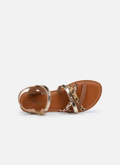 Sandales et nu-pieds L'Atelier Tropézien Sandales IL108E Marron vue gauche