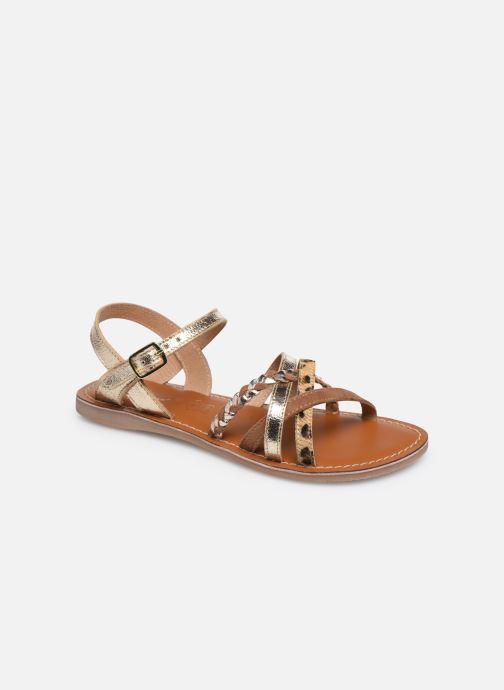 Sandales et nu-pieds L'Atelier Tropézien Sandales IL108E Marron vue détail/paire