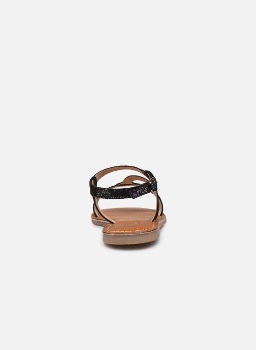 Sandales et nu-pieds L'Atelier Tropézien Sandales IL100E Noir vue droite