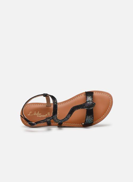 Sandales et nu-pieds L'Atelier Tropézien Sandales IL100E Noir vue gauche