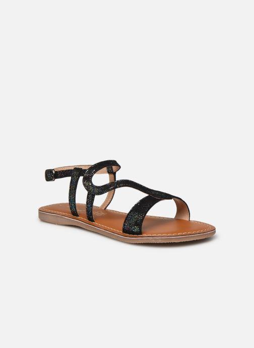 Sandales et nu-pieds L'Atelier Tropézien Sandales IL100E Noir vue détail/paire