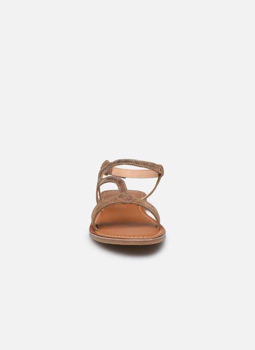 Sandali e scarpe aperte L'Atelier Tropézien Sandales IL100E Marrone modello indossato