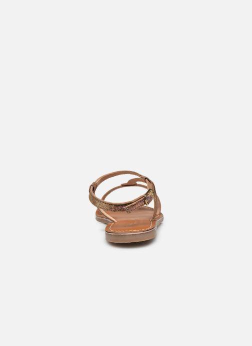 Sandali e scarpe aperte L'Atelier Tropézien Sandales IL100E Marrone immagine destra