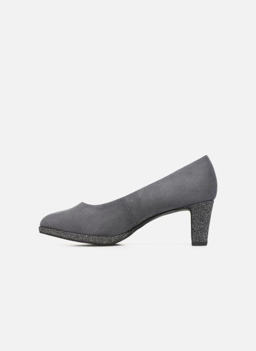 Zapatos de tacón Marco Tozzi 2-2-22409-33 Gris vista de frente