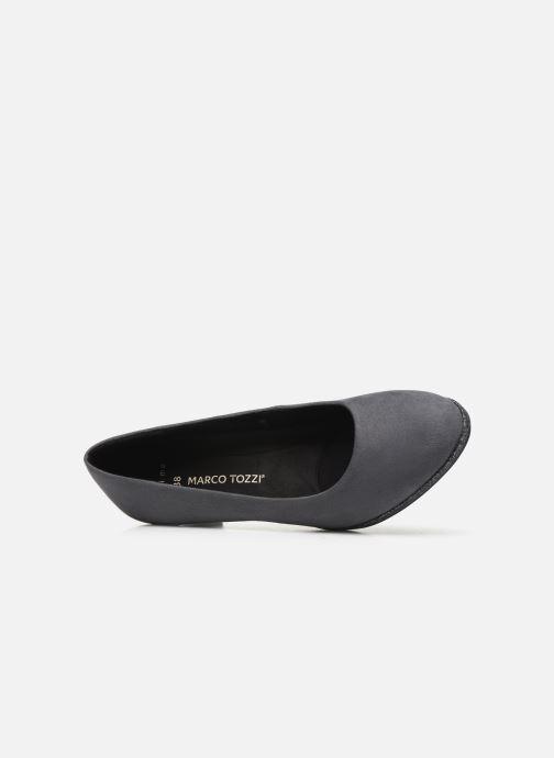 Zapatos de tacón Marco Tozzi 2-2-22409-33 Gris vista lateral izquierda