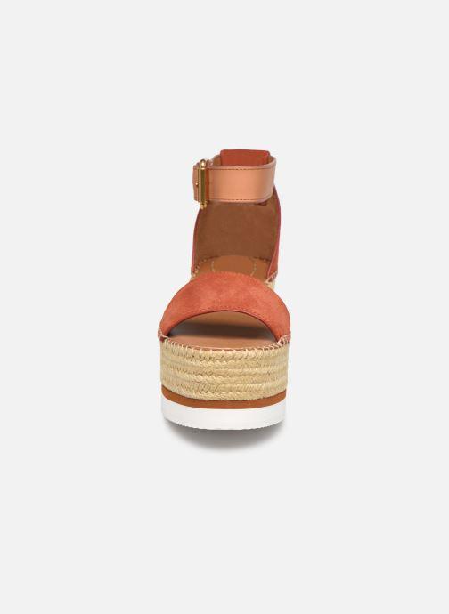 See by Chloé Glyn Splash (Orange) - Sandales et nu-pieds chez Sarenza (417615)