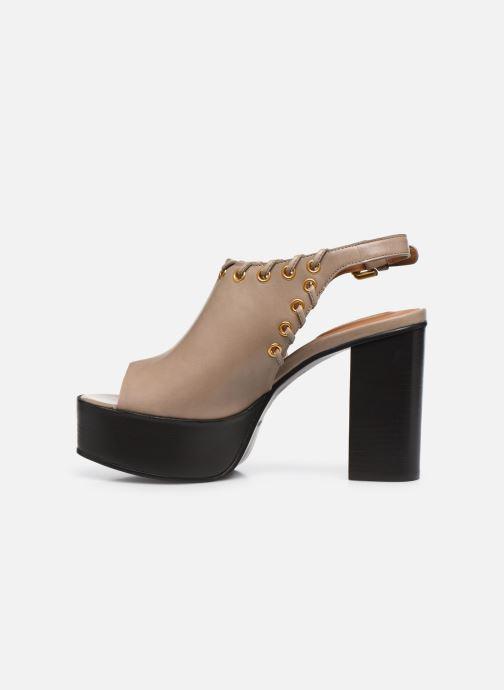 Sandali e scarpe aperte See by Chloé Helen Eva Beige immagine frontale