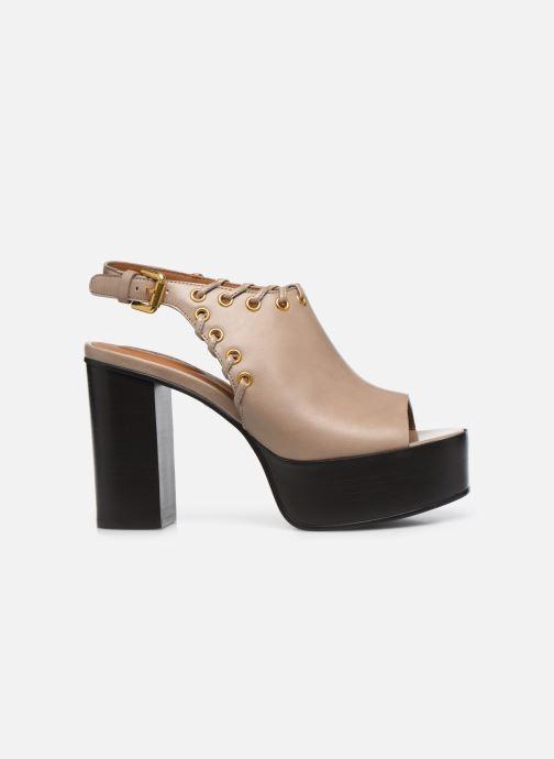 Sandali e scarpe aperte See by Chloé Helen Eva Beige immagine posteriore