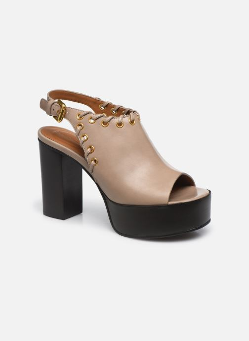 Sandali e scarpe aperte See by Chloé Helen Eva Beige vedi dettaglio/paio