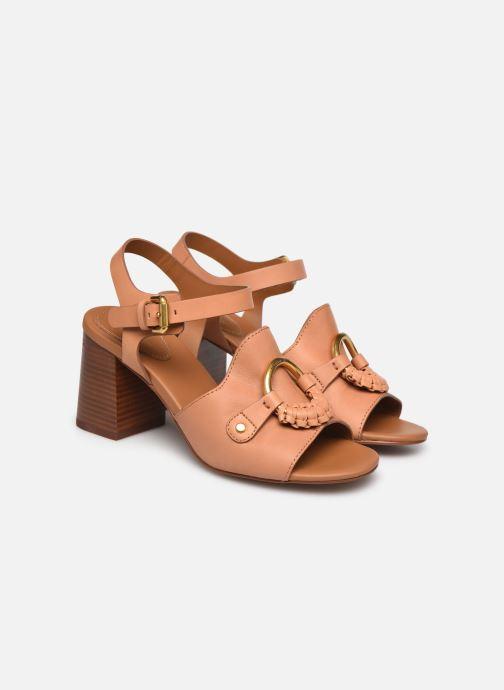 Sandali e scarpe aperte See by Chloé Hana Jarvis Marrone immagine 3/4