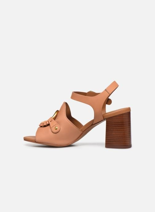 Sandali e scarpe aperte See by Chloé Hana Jarvis Marrone immagine frontale