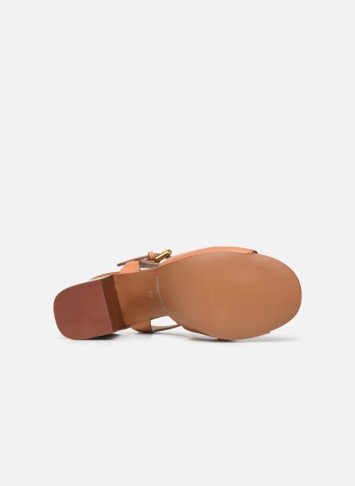 Sandali e scarpe aperte See by Chloé Hana Jarvis Marrone immagine dall'alto