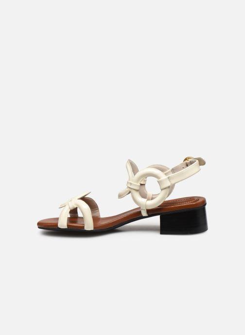 Sandalias See by Chloé Kara Jarvis Blanco vista de frente