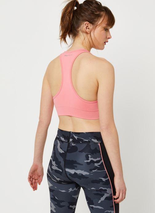 Vêtements Only Play Onpdaisy Seamless Sports Bra - Opus Rose vue portées chaussures