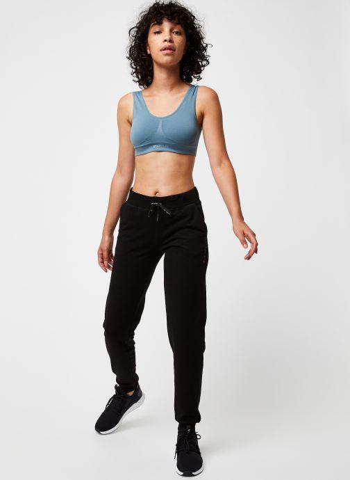 Vêtements Only Play Onpmira Seamless Sports Bra - Opus Bleu vue bas / vue portée sac