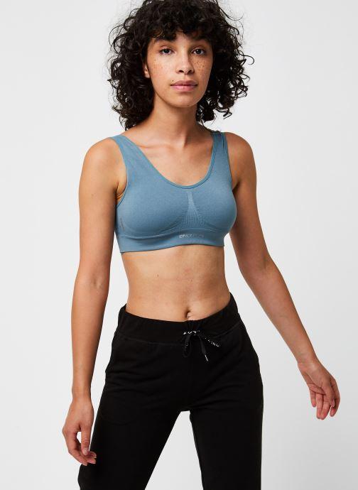 Vêtements Only Play Onpmira Seamless Sports Bra - Opus Bleu vue détail/paire