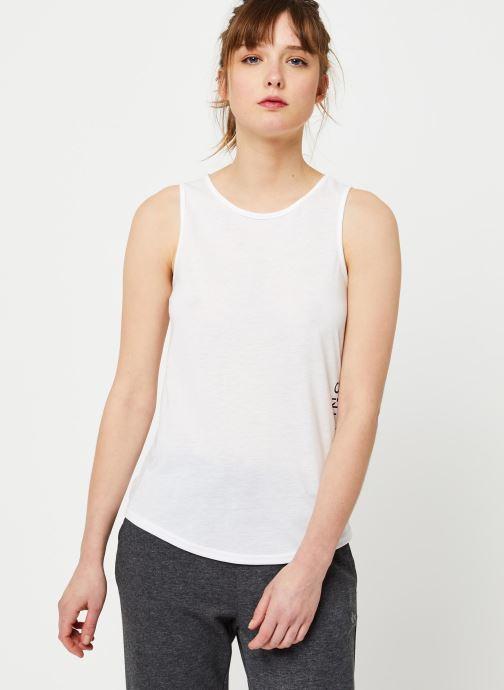 Vêtements Only Play Onpperformance Athl Sl Top Blanc vue droite