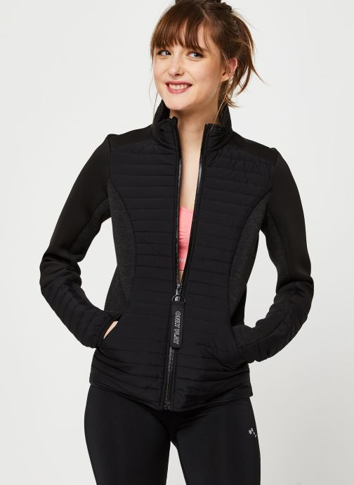 Vêtements Only Play Onpjolina Ls Woven Padded Short Jacket Noir vue détail/paire