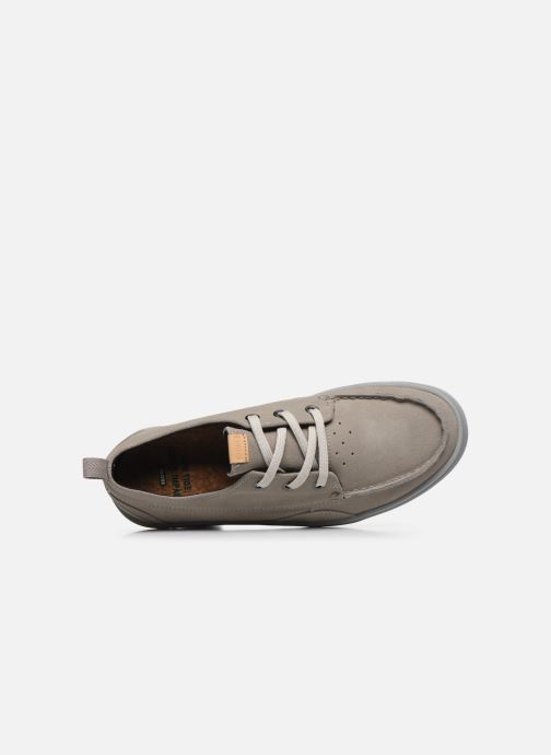 Baskets Globe Low Tide C Gris vue gauche