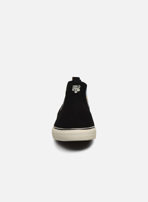 Baskets Globe Dover C Noir vue portées chaussures