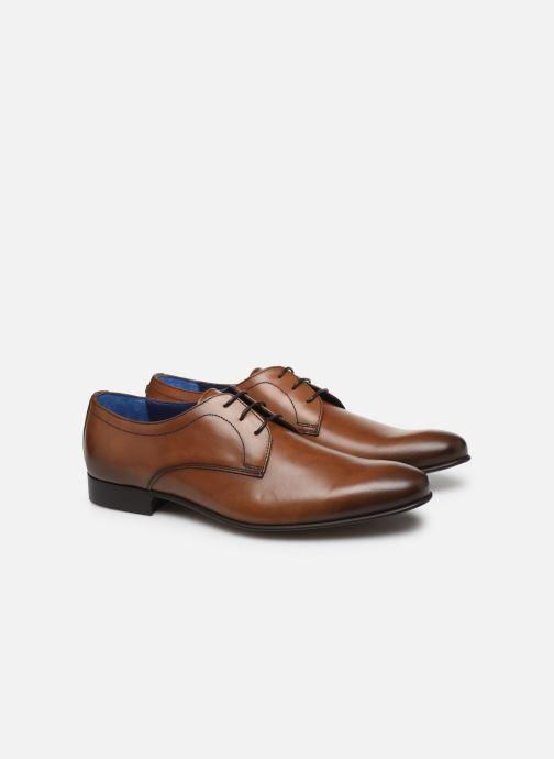 Zapatos con cordones Azzaro CRISTAN Marrón vista 3/4