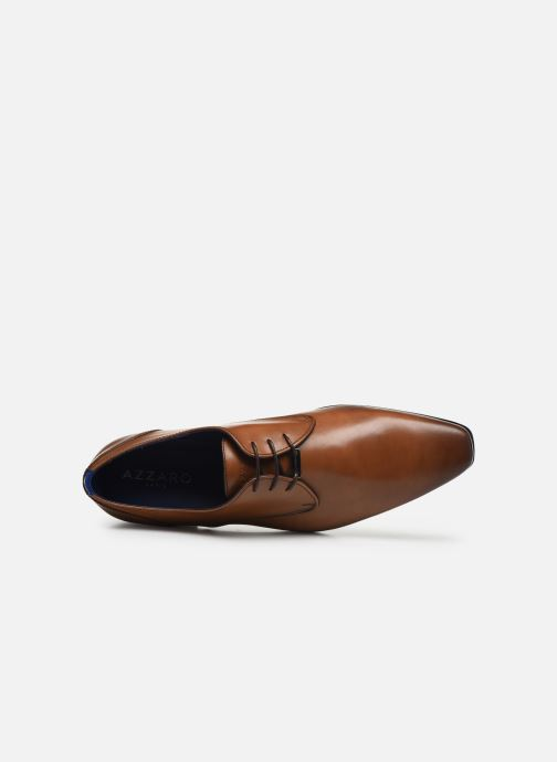 Zapatos con cordones Azzaro DOPING Marrón vista lateral izquierda