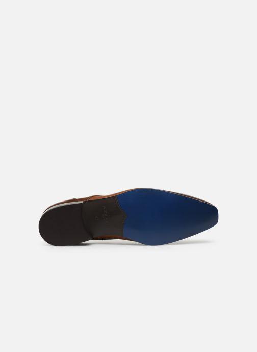 Zapatos con cordones Azzaro DOPING Marrón vista de arriba
