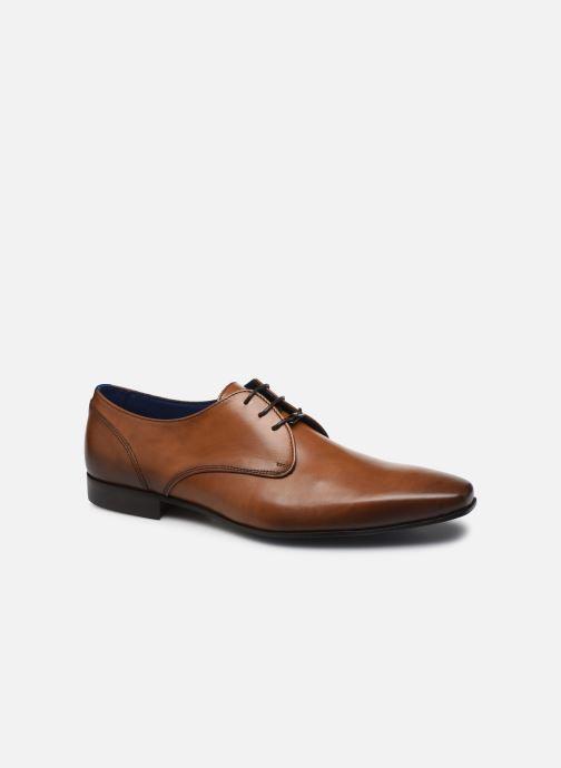 Zapatos con cordones Azzaro DOPING Marrón vista de detalle / par