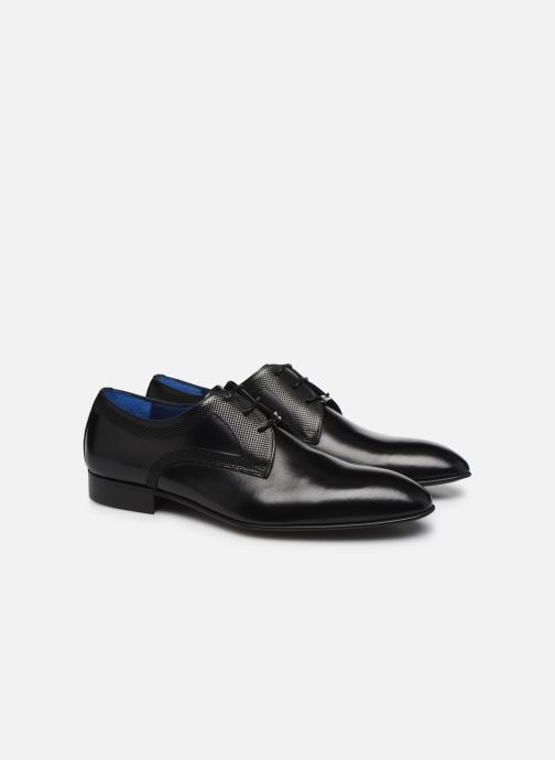 Zapatos con cordones Azzaro MOLITA Negro vista 3/4