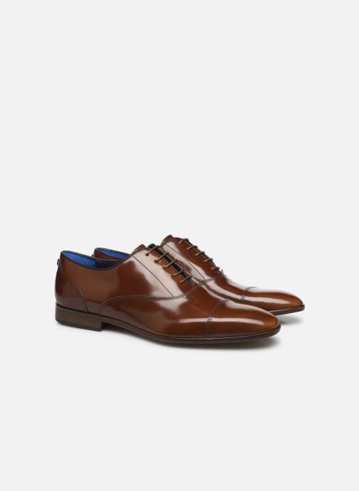 Zapatos con cordones Azzaro RAELO Marrón vista 3/4