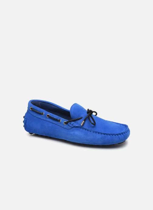 Mocasines Azzaro SMET Azul vista de detalle / par