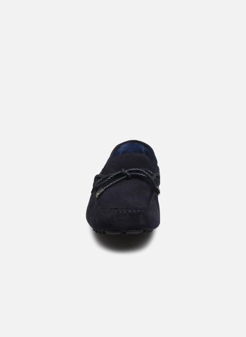Mocassins Azzaro SMET Bleu vue portées chaussures