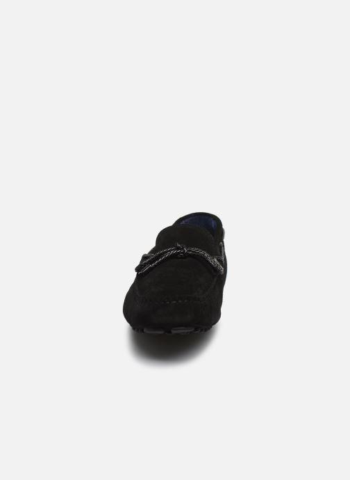 Mocasines Azzaro SMET Negro vista del modelo