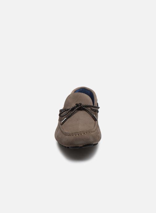 Mocassins Azzaro SMET Marron vue portées chaussures