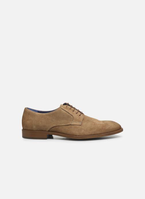 Zapatos con cordones Azzaro ZENOU Marrón vistra trasera