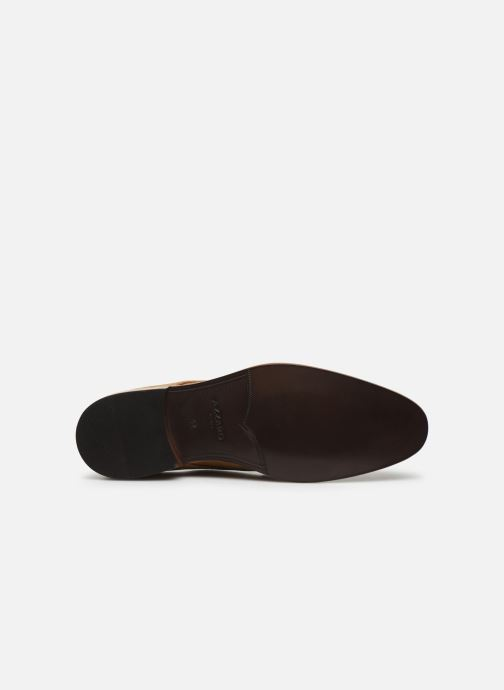 Zapatos con cordones Azzaro ZENOU Marrón vista de arriba