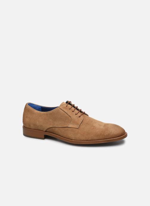 Zapatos con cordones Azzaro ZENOU Marrón vista de detalle / par