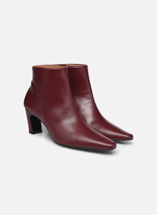 Bottines et boots Flattered Xenia Bordeaux vue 3/4