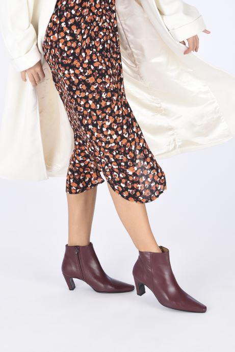 Stiefeletten & Boots Flattered Xenia weinrot ansicht von unten / tasche getragen