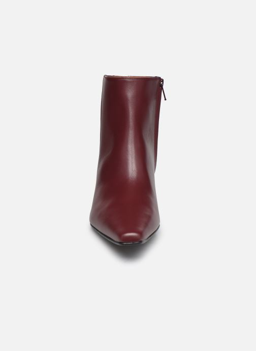 Bottines et boots Flattered Xenia Bordeaux vue portées chaussures