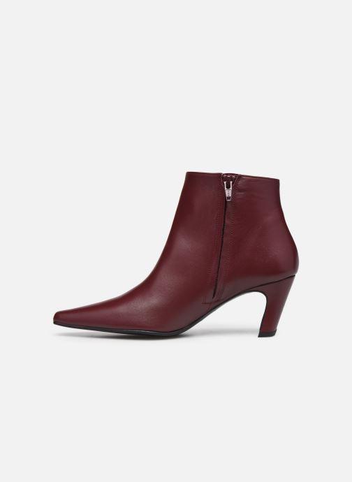 Bottines et boots Flattered Xenia Bordeaux vue face